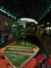 クリスマスステーションin八瀬 盆ラマワークショップより - 鉄道少年の日々