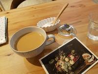 手紙の書けるカフェで - 牡蠣を煮ていた午後