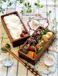 豚の生姜焼き弁当とホットプレート事情♪ - ☆Happy time☆