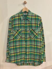 HOLLYWOOD RANCH MARKET / スプリングネルチェック ロングスリーブ ワークシャツ - Safari ブログ