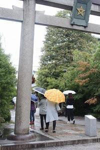 雨の京都へ行く⑤清明神社(2017.9.16-18) - 風の中で~