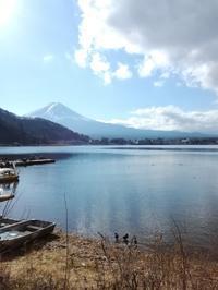 2017/12/15 青春18きっぷを使って、河口湖へ富士山を見に行く。 - xink sink 絵 写真 料理 文 by 加藤信一  四国八十八ヵ寺紀行