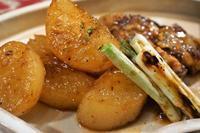 ■晩ご飯【ブリ粗大根煮焼きネギ添え/豚汁】 - 「料理と趣味の部屋」
