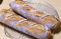 華やかな街と地味なバゲット - ~あこパン日記~さあパンを焼きましょう