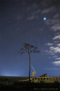 ふたご座流星群2017 陸前高田の夜 - 遥かなる月光の旅