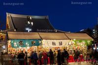羽子板市 浅草寺 - 風景写真家 鐘ヶ江道彦のフォトブログ
