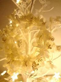 クリスマスツリー - handmade flower maya