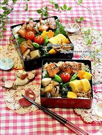 サーモンの照焼き弁当といつもの角食♪ - ☆Happy time☆