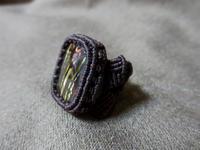 【マクラメ&ヘンプ】#180タイガーアイのリング - Shop Gramali Rabiya (SGR)