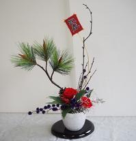 三国ヶ丘公民館レッスン12月 - グリママの花日記
