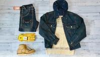 ブルー主体にイエローの補色を狙ったデニムオンデニム - アメカジ、古着、ミリタリーファッションのブログ