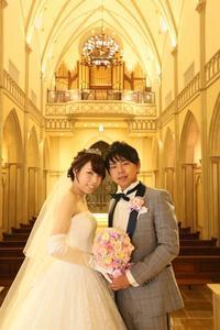 新郎新婦様からのメール うっとりした気持ちに ハートコート横浜の花嫁様より - 一会 ウエディングの花