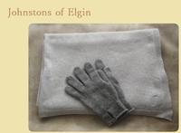 Johnstons of Elgin::: Cashmere travel wrap(Platinum) - minca's sweet little things