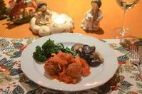 イタリア風肉団子のトマト煮 - まほろば日記