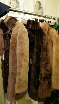 Fur coat - carboots