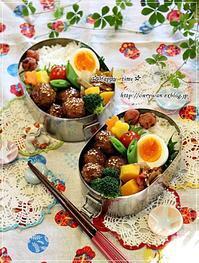 肉団子弁当とお弁当箱の話し♪ - ☆Happy time☆