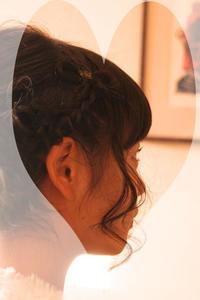 結婚式 髪型 エスポワールリボン 髪の毛 リボンヘア ヘアアレンジ さくら市 美容室エスポワール - 美容室エスポワール
