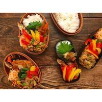 豚と玉葱お揚げの卵とじBENTO - Feeling Cuisine.com