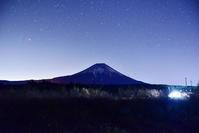東京農大富士農場の裏手から - 風とこだま