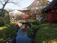 浅草寺本堂  池波正太郎記念館 - エンジェルの画日記・音楽の散歩道