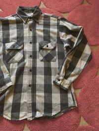 12月23日(土)入荷分!80s~Five Brothers Gray&BLACK ブロックチェックネルシャツ! - ショウザンビル mecca BLOG!!