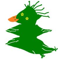 聖夜へなちょこクリスマストリー(投稿作品) - 動物キャラクターのブログ へなちょこSTUDIO