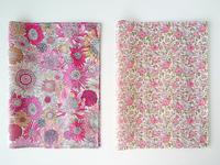 花柄&動物柄 リバティの素敵なノートカバー、B5サイズ(大学ノート)です。 - My Sweet Time