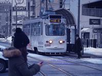 雪の路面電車 - RING ring  !