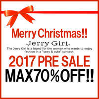 Merry Christmas!!  2017 PRE SALE  好評開催中! - レディースシューズ通販 Jerry Girl Staff Blog