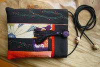 絹ポシェット - 「にゃん」の針しごと