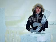 Terje Isungset - 氷の楽器 - 世界中で報道 - タダならぬ音楽三昧