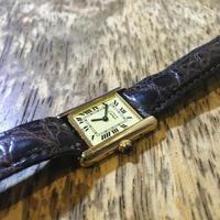 カルティエ マストタンク 時計修理 - トライフル・西荻窪・時計修理とアンティーク時計の店