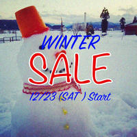 WINTER SALEのお知らせ! - CHARGER JOURNAL