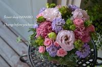 退職祝いに♪フラワーアレンジメント。 - 花色~あなたの好きなお花屋さんになりたい~