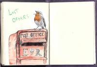 ポストにとまってロビンがさえずるもうすぐクリスマス! - ブルーベルの森-ブログ-英国のハンドメイド陶器と雑貨の通販