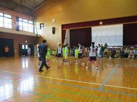 20171217_選抜女子_練習試合 - 日出ミニバスケットボール