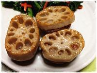 レンコンの肉詰め - つぶやき