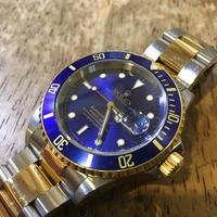 ロレックス サブマリーナ 16613時計修理 - トライフル・西荻窪・時計修理とアンティーク時計の店