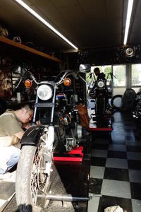 1976FXE1200 トランスミッション周り - Vintage motorcycle study
