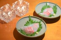 アサツキの酢味噌和え/レバニラ/鯛のお刺身/べったら漬けなどなど - まほろば日記