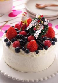 娘と楽しく♪クリスマスケーキ作り - cafeごはん。ときどきおやつ