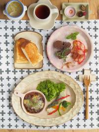 いつもの朝ごはん - 陶器通販・益子焼 雑貨手作り陶器のサイトショップ 木のねのブログ