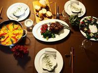 ゆっくりクリスマスディナー - Kitchen diary