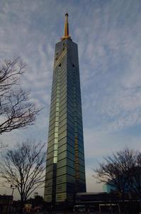 福岡タワーに登ってきた - ( どーもボキです > Z_ ̄∂