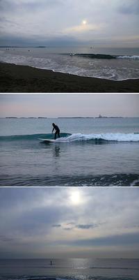2017/12/24(SUN) 冬の海は海水がキレイだなぁ〜 - SURF RESEARCH
