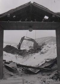80年代夕張128・炭住壊し - 萩原義弘のすかぶら写真日記