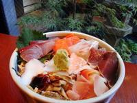 京都市 ようやく食べられた海鮮丼♪ 茶又 - 転勤日記