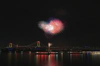 お台場レンボ―花火2017を三度♪ - 飛行機&鉄道写真館