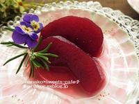 リンゴのコンポート - nanako*sweets-cafe♪