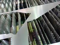 型紙からのアルミレーザー切断 - ステンレスクリーンカットのレーザーテック